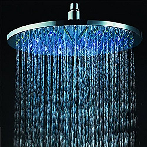 7 Colours Changing Led Shower Head Romantic Light Home Bathroom Showerhead