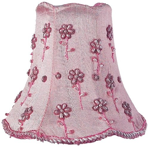 Trend and also read review customer opinions just before buy Embroided Pink Floral Beaded Shade xx Clip On