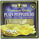Tiger Tiger Plain Puppadums, 4 Ounce
