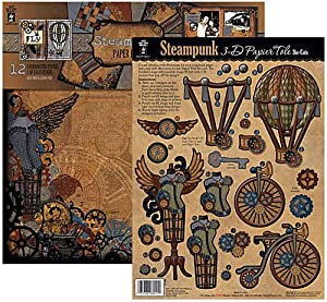Hot off the press steampunk papier tole with for Steampunk arts and crafts