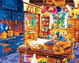 Baker's Kitchen Jigsaw Puzzle