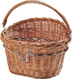 Rixen & Kaul Wicker Front Bike Basket - Willow, 18 lt (To be used with KF850 Klickfix Bracket)