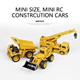 1:64 Remote Control RC Car Truck RTR Engineering Vehicle Buggy 2.4GHz Case Truck Off-Road Buggy Student Toys Gift (Dump truck) (Color: Dump Truck)