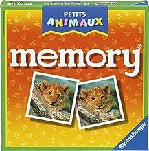 Ravensburger - 21295 - Jeu éducatif premier âge - Memory Petits Animaux
