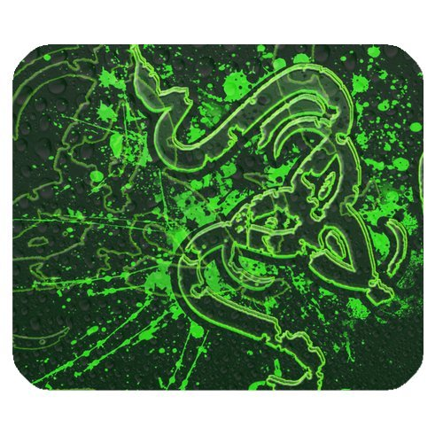Razer Fps Game Snakelike Pattern Personalized Rectangle Mouse Pad