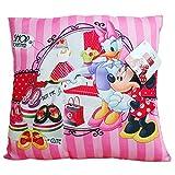 Minnie Mouse - Ni�os Coj�n - almohada - selecci�n de colores - 35x35 cm, Farbe:Rosa