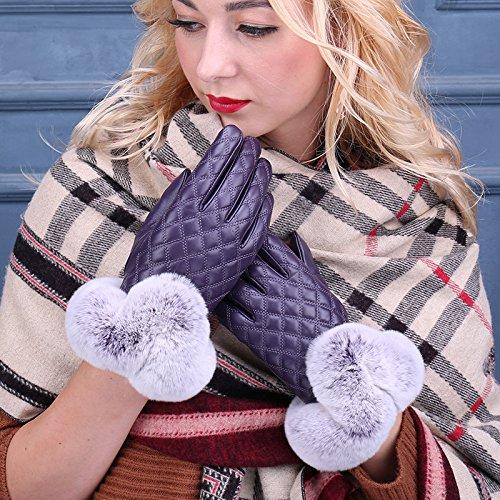 jqam-autunno-inverno-donne-pelose-pu-pelle-lattice-guanti-touchscreen-guida-allaperto-ciclismo-guant