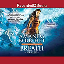 Breath of Fire: The Kingmaker Chronicles, Book 2 Audiobook by Amanda Bouchet Narrated by Mia Barron