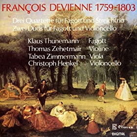 Devienne: Chamber Music for Bassoon & Strings
