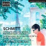 Schmitt: Complete Original Works for Piano Duet