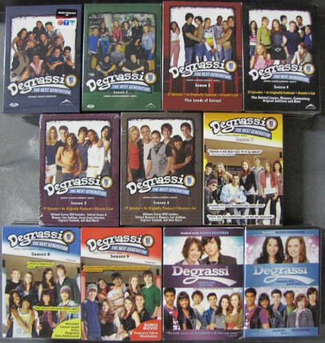 Degrassi Next Generation: Complete Series (Seasons 1-10)