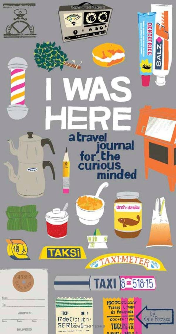 I Was Here' a fun travel journal