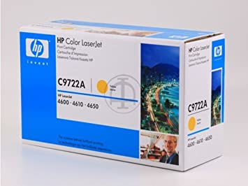 HP - Hewlett Packard Color LaserJet 4650 DN (641A / C 9722 A) - original - Toner yellow - 8.000 Pages