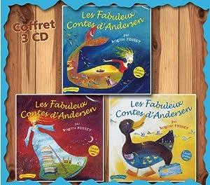 Les Fabuleux Contes D'Andersen Vol Jaune + Bleu + Rouge