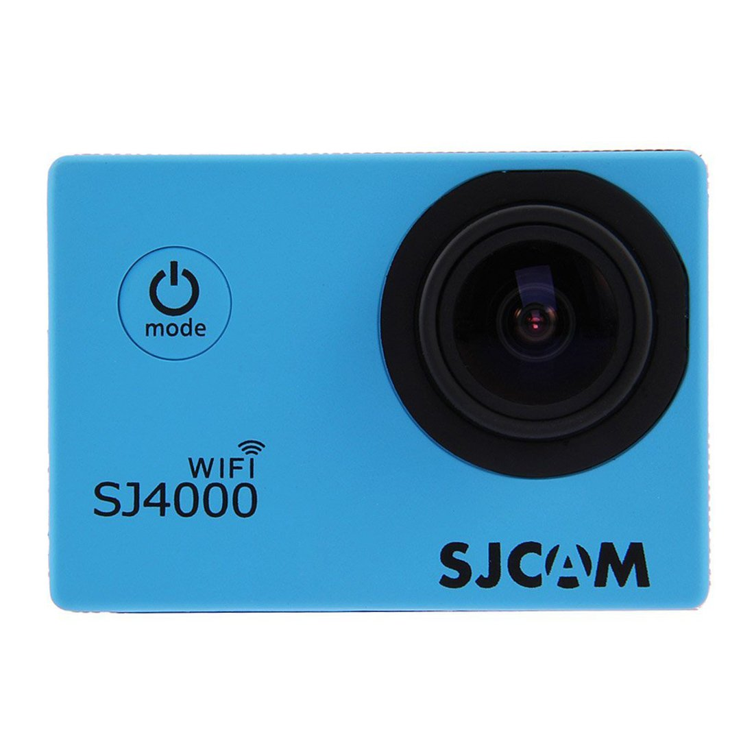 SJCAM Original SJ4000 WiFi Action Camera 12MP 1080P H.264 1.5 Inch 170° Wide Angle Lens Waterproof Diving HD Camcorder Car DVR with Free Makibes Cleaning Cloth (Blue)