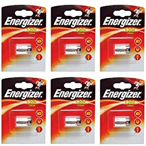 Energizer CR2 3V Lithium Photo Batteries (6 Pack)