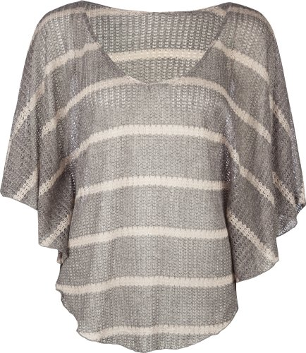 FULL TILT Open Knit Womens Top