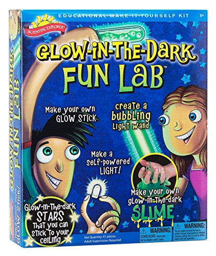 Scientific Explorer Glow in The Dark Fun Lab JungleDealsBlog.com