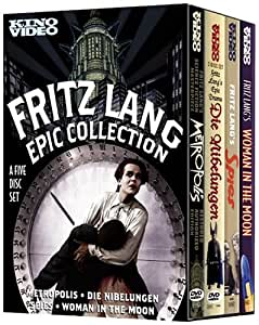 Fritz Lang Epic Collection (Metropolis/Die Nibelungen/Woman in the Moon/Spies)