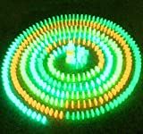光る ドミノ 大量 セット 蓄光 幻想的 積み木 としても (j 100個 セット)