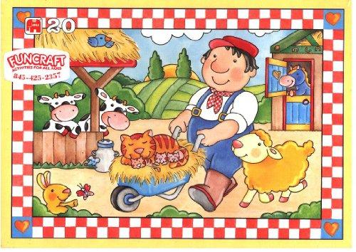 On the Farm 20pc Jigsaw Puzzle - Jumbo 1149A