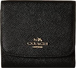 COACH Women\'s Small Wallet LI/Black Clutch