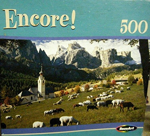Encore! 500 Piece Jigsaw Puzzle - Amazing Graze