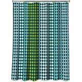 Allure Home Creations On A Dot Shower Curtain