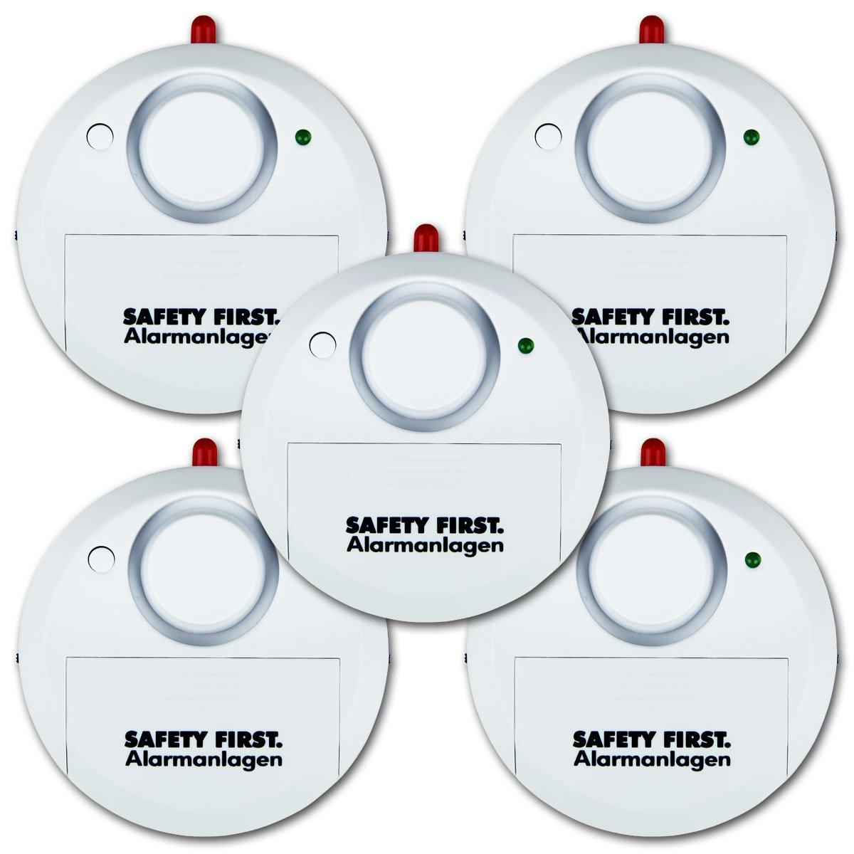 kh security Glasbruchalarm, 5er Set, weiß, 100161set5  BaumarktKundenbewertung und weitere Informationen