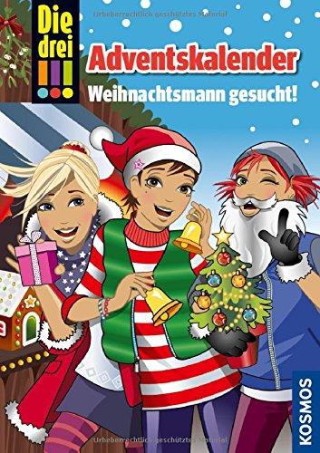 Die drei !!! Der Adventskalender: Weihnachtsmann gesucht! Mit Extra: Geschenkpapier das Buch von Maja von Vogel - Preis vergleichen und online kaufen