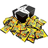 Mike and Ike Zours Sour Fruitz Chewy Candy, 0.5 oz Snack Packs in a BlackTie Box (Pack of 28)