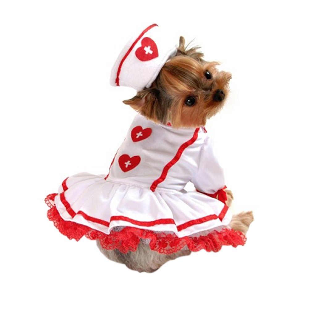 Cutie Nurse Dog Clothes Costume