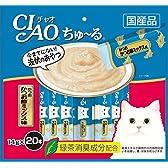 チャオ (CIAO) ちゅ~る かつおかつお節ミックス味 14g×20本入り