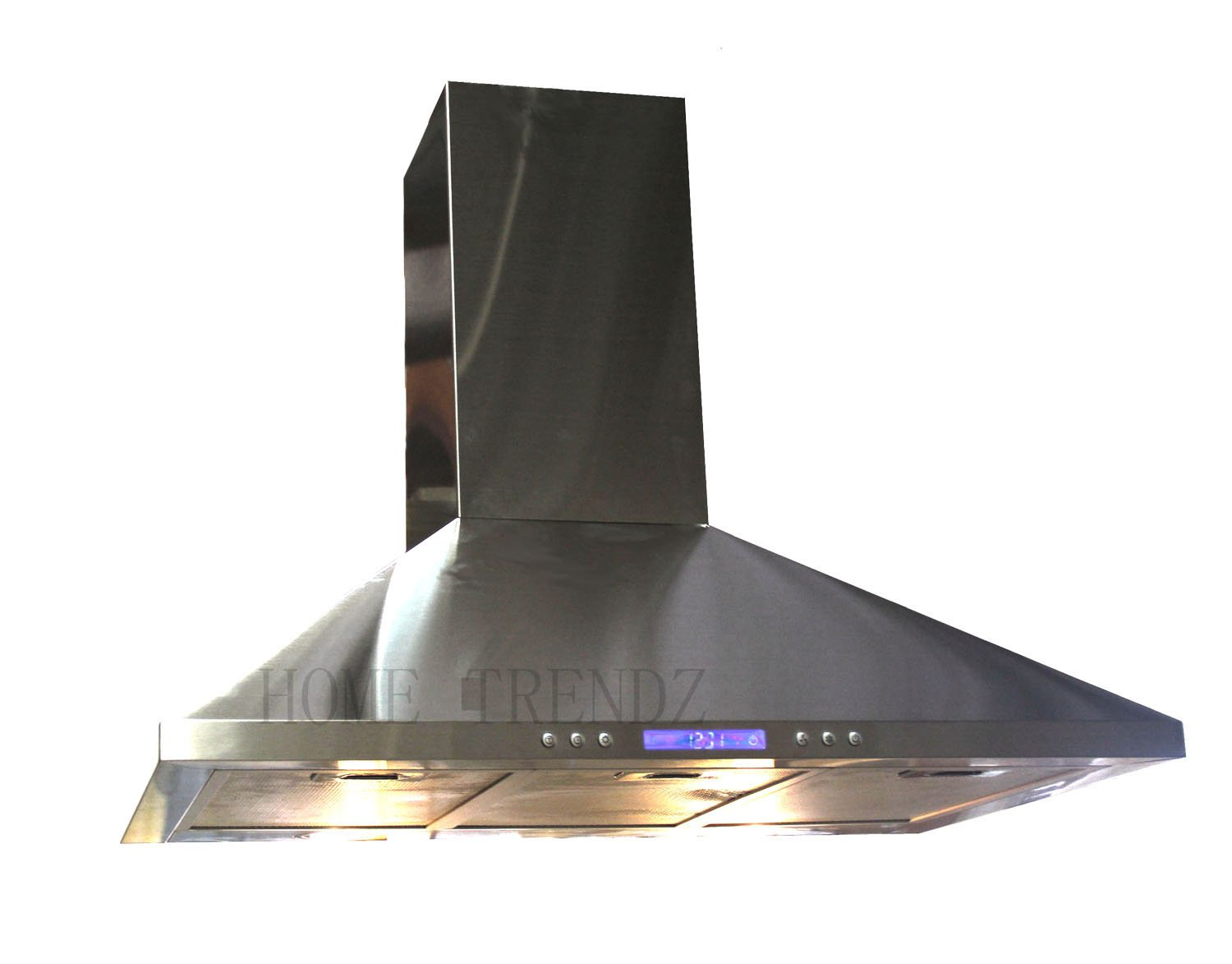 "30"" Kitchen Wall Mount Stainless Steel Range Hood Stove Vents Brushed Nickel"