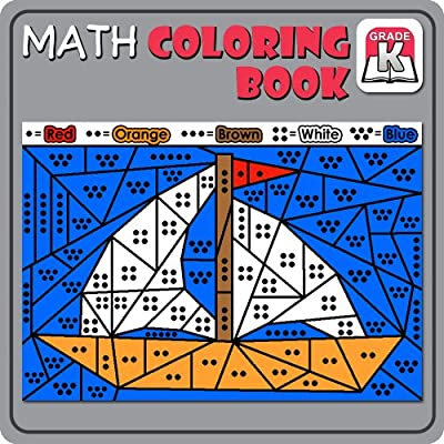 Math Coloring Book:Kindergarten [Download]
