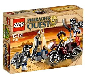 7306 Pharaoh's Quest - Golden Sceptre Guardians - 7306 Lego Pharaoh's Quest