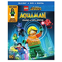 LEGO DC Super Heroes: Aquaman: Rage of Atlantis [Blu-ray]