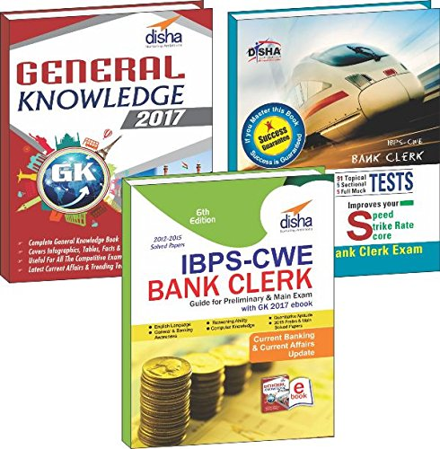 IBPS-CWE Bank Clerk 2016 Simplified (Guide/101 Speed Tests/General Awareness 2017)
