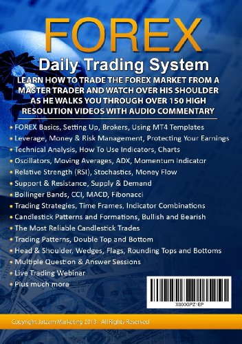 Forex trading strategies dvd