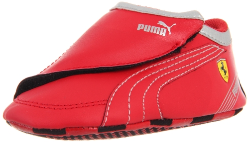 Puma Future Cat M2 SF Crib Sneaker (Infant/Toddler),Rosso Corsa/Rosso Corsa/White,3 M US Infant