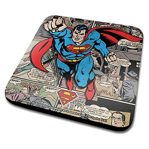 DC Originals-Sottobicchiere, motivo: copertine fumetti patchwork