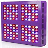 MAGIOVE® 600W LED Plant Growing Light Panel Reflector Design for Indoor Hydroponic Garden and Greenhouse Plant Veg Flowering Grow Light System