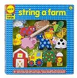 Alex Toys Wooden Stringing Sets - String a Farm