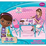 Doc McStuffins Erasable Activity Table and Chair Set