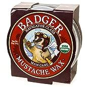Badger Mustache Wax