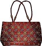 Czds India Women's Red Handbag (BAG-05)
