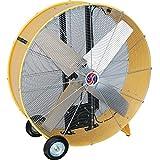Q Standard Open Motor Belt-Drive Drum Fan - 42in., 1 HP, 17,600 CFM, Model# 10242