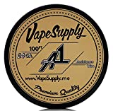 VapeSupply 0.51 mm 24 Gauge AWG Kanthal A-1 Round Wire, 100ft Spool