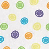 Luvable Friends Fitted Pack n Play Sheet, Yellow Geometric Print