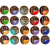 20 Cup CAZA TRAIL Sampler! 10 Different Coffeee Only Varieties! Kona...Donut Lover's...Balance Blend+